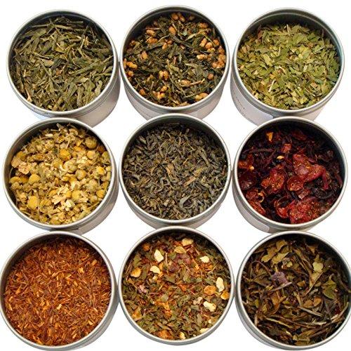 - Heavenly Tea Leaves Tea Sampler, Assorted, 9 Count