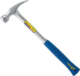 product image for Estwing Framing Hammer - 30 oz Long Handle Straight Rip Claw with Smooth Face & Shock Reduction Grip - E3-30S