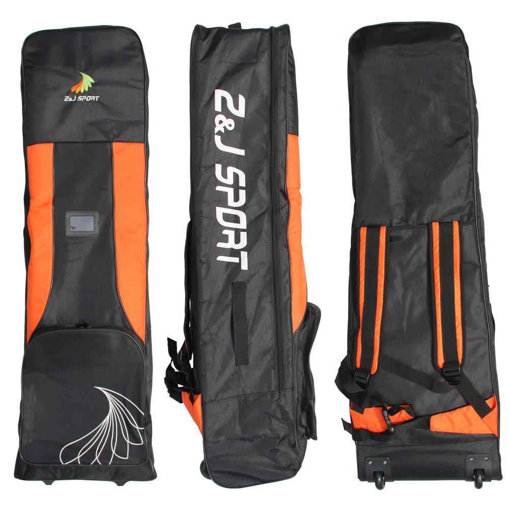 ZJスポーツ大容量ドラゴンボートパドルチームバッグ、ホイール付き   B079GSTTRJ