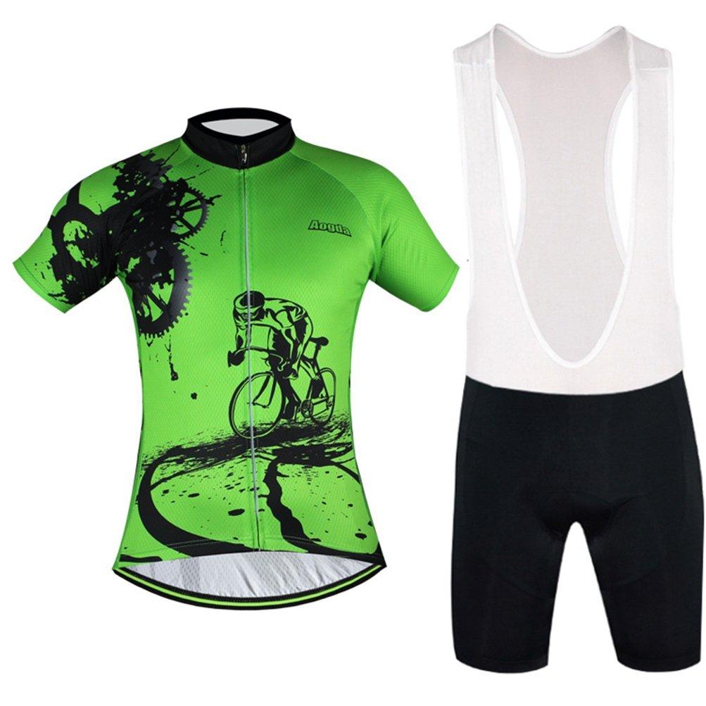 5e17e460e Uriah Cycling Jersey Bib Shorts Sets Reflective Short Sleeve Aogda larger  image
