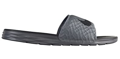 e18f9a526 Nike Men s Benassi Solarsoft Slide Sandal Dark Grey Black Size 11 M US