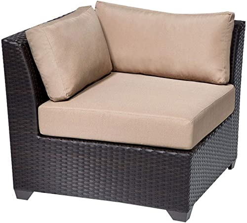 TK Classics BARBADOS-04a 4 Piece Outdoor Wicker Patio Furniture Set