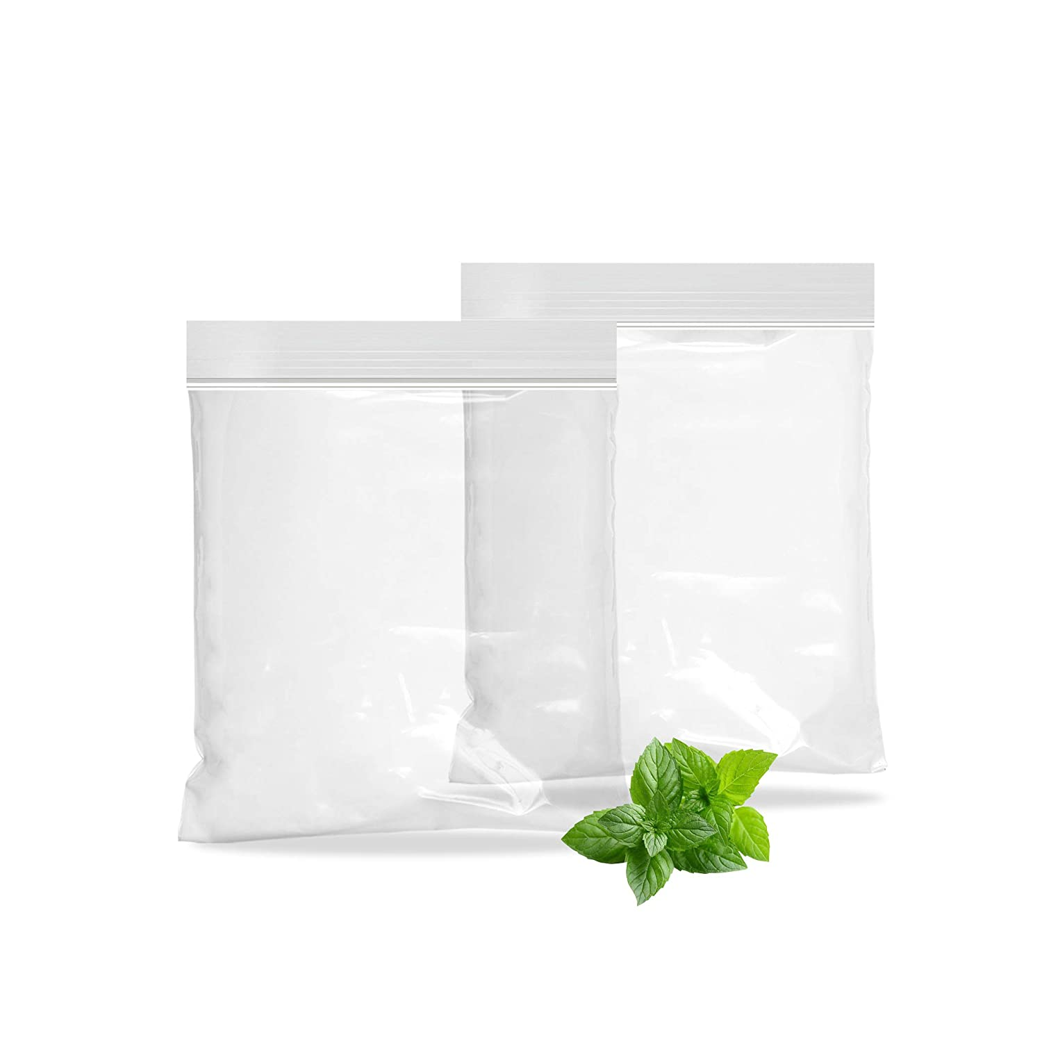 APQ Pack of 100 Polypropylene Zipper Locking Bags 4 x 6. Thickness 2 mil. Clear Seal Top Bags 4x6. High Clarity Food Storage Bags for Industrial, Food Service.