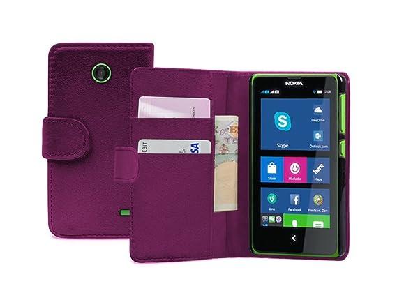 half off 6b766 d0d05 Membrane - Purple Wallet Book-Style Case for Nokia X (RM-980 / A110 ...
