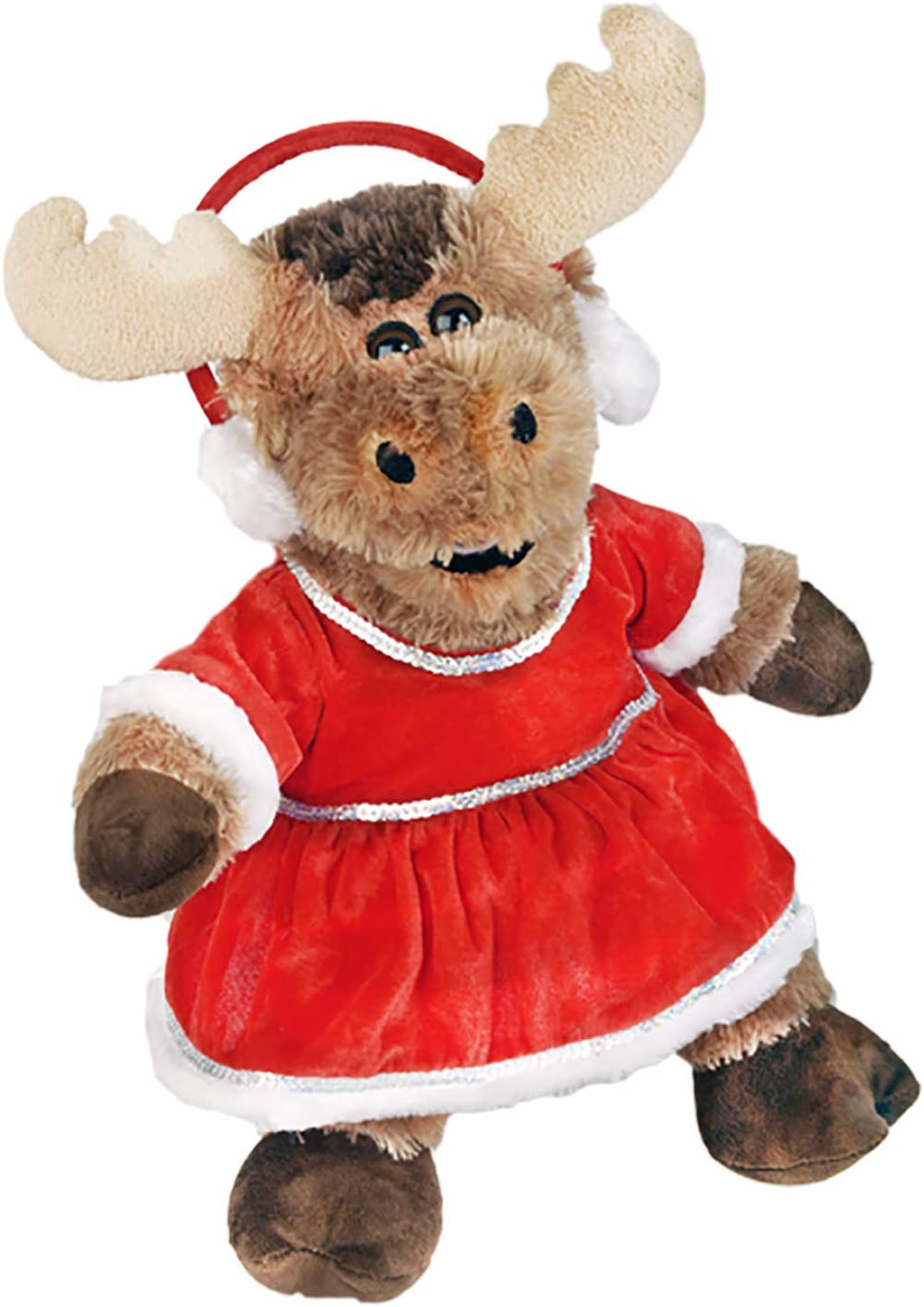 Red Winter Wonderland Outfit Teddy Bear Clothes Fits Most 14-18 Build-A-Bear and Make Your Own Stuffed Animals Teddy Mountain 2123
