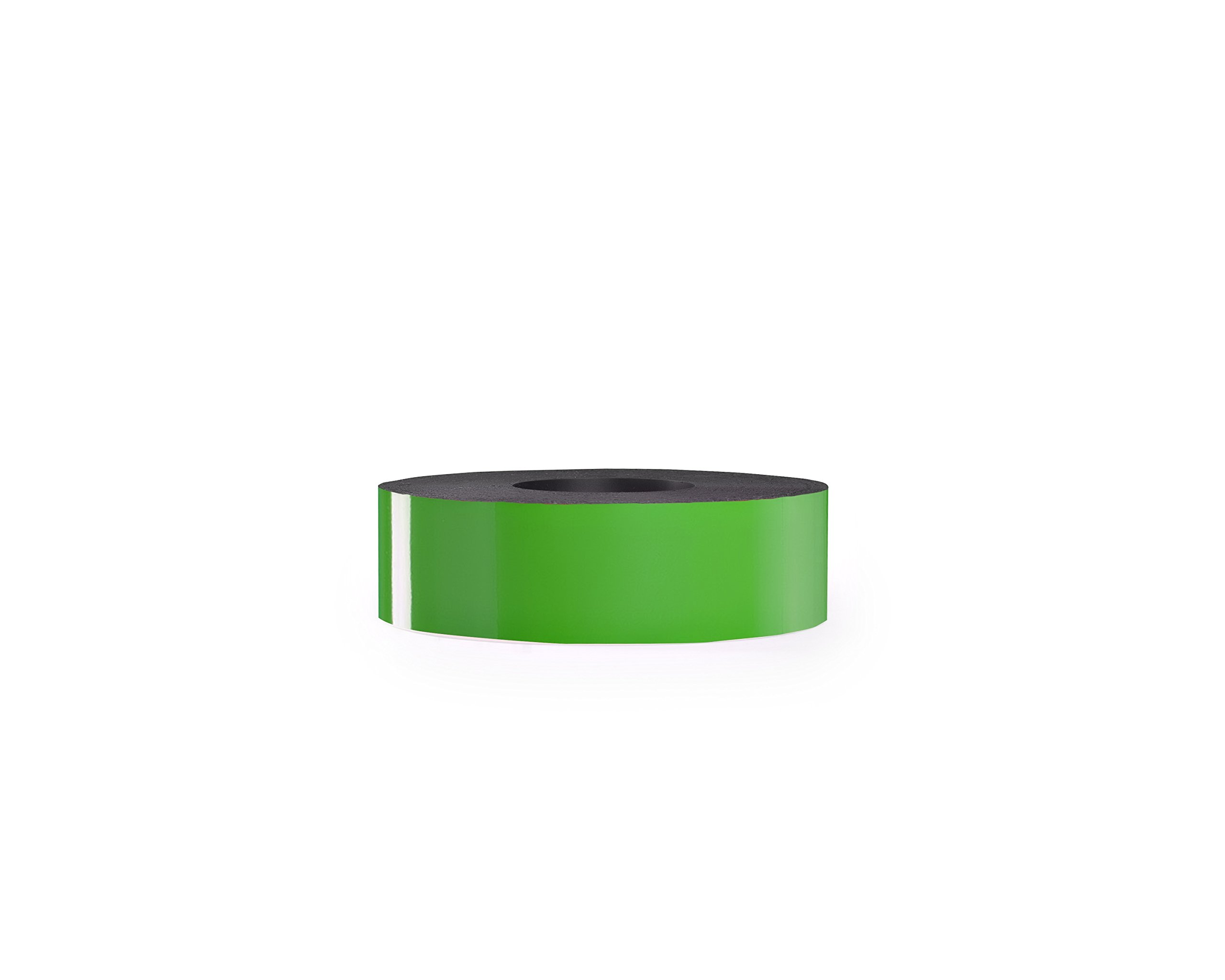 30 Mil Dry Erase Magnetic Strip Roll - Kelly Green - 2'' X 25'