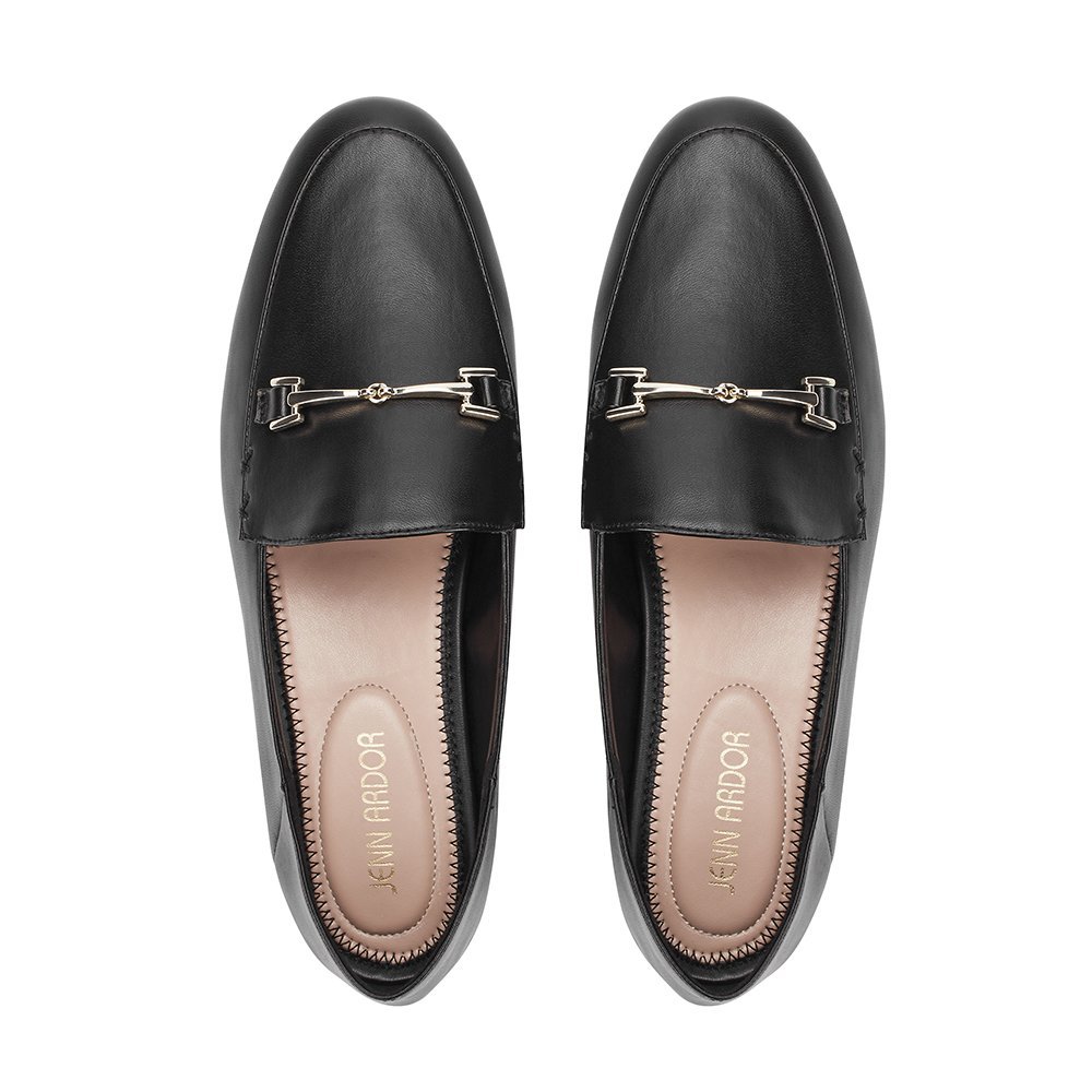 8c3a8760ed6be JENN ARDOR Women's Penny Loafers Slip On Flats Comfort Driving Office  Loafer Shoes