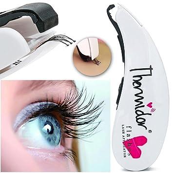 Preventosamente pestañas grapadora, pestañas grapadora de ojos, herramienta de maquillaje mini falsa contiene 45 brocas de pestañas y reemplazo, ...