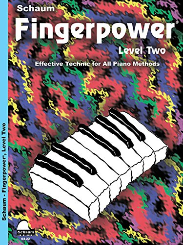 Fingerpower - Level 2: Effective Technic for All Piano Methods (Schaum Publications Fingerpower(R)) (Tapa Blanda)