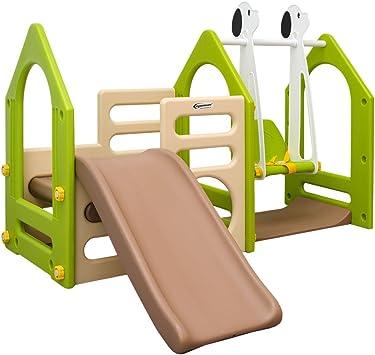 Casa de Juegos eyepower para niños y niñas | con Tobogán + ...