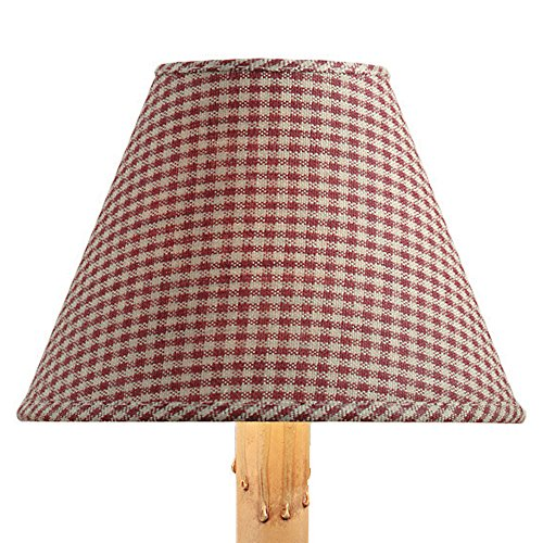 (Park Designs York Mini Checked Wine Ten Inch Lampshades )