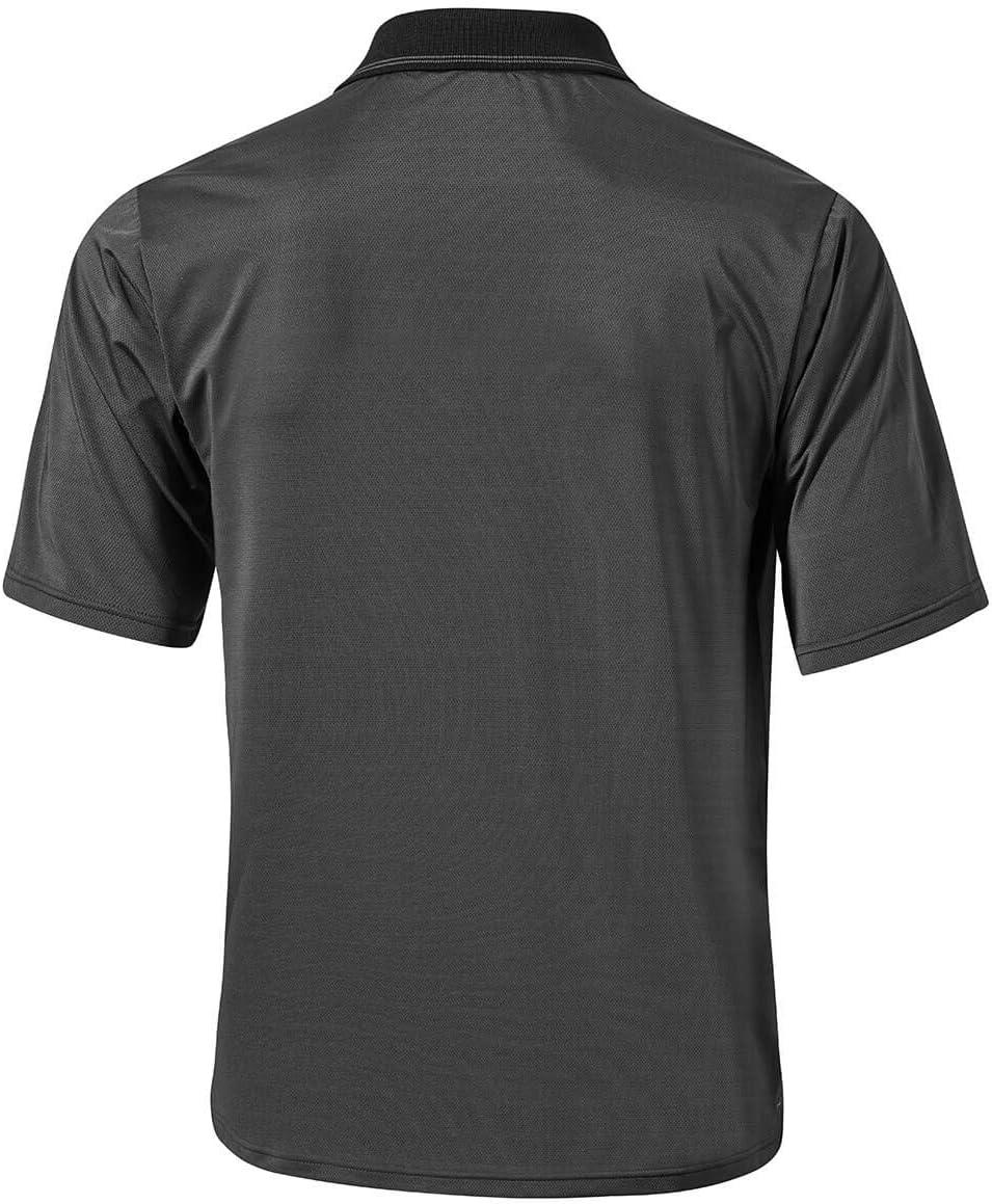 Mizuno Men's Quick Dry Boarder Polo Shirt Black
