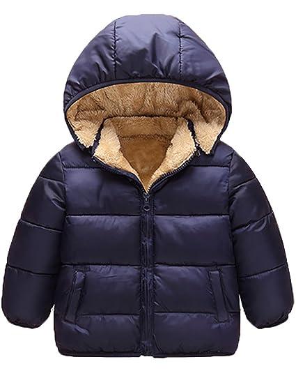 MISSMAO Piumino Bambino Giacche Packable di Piuma Leggero Giubbotti Inverno  Cappotti con Cappuccio  Amazon.it  Abbigliamento fa40891d287