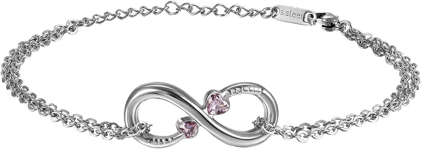 Love Bracelets de Cheville Coeurs St Valentin Bracelet Mariée Bracelets de cheville anniversaire-Promesse Bracelets de cheville