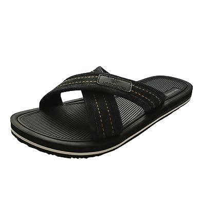 1d454c060ae369 URBANFIND Men s Slides Sandals Thong Flip Flop Shower Slippers Black
