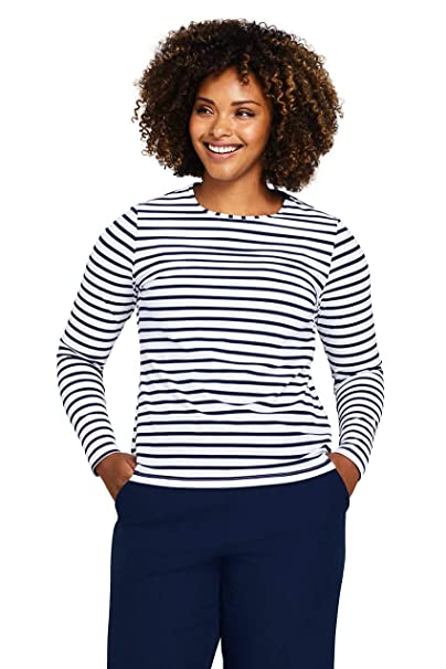 lands end swim tee