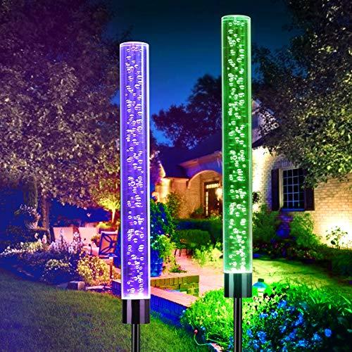 Rope Light Garden Stakes