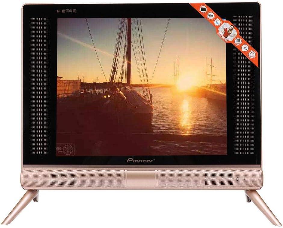 Televisor LCD HD de 17 Pulgadas,1366x768 Alta definición 16: 9 260 CD/m2 Soporte TV LCD TV Digital analógica, Escritorio/Pared 1080P Televisión con Sonido estéreo Soporte de Calidad HDMI/USB(EU): Amazon.es: Electrónica