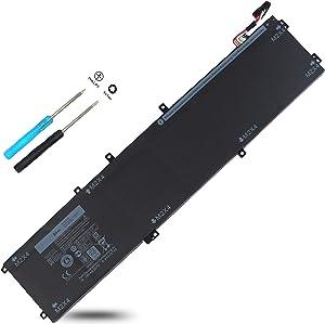XPS 15 9550 4GVGH 1P6KD 84Wh 11.4V Battery Compatible with Dell XPS 15 9550 XPS9550,Precision 5510 Mobile Workstation,T453X 0T453X 04GVGH 01P6KD P56F P56F001 451-BBUX 15-9550-D1828T Replacement