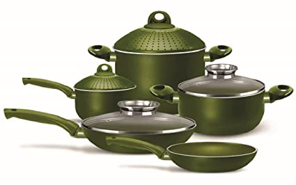 Pensofal 07pen8731 Terre Di Siena Nonstick Cookware Set 9 Piece