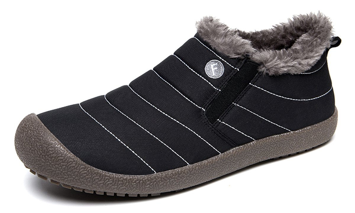YIRUIYA Women's Snow Boots Fur Lined Winter Warm Sneakers A08A6811-WN