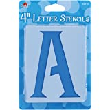 Plaid Letter Stencil Value Pack (4-Inch), 28874 Genie