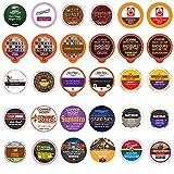 Bold & Dark Roast Coffee Single Serve Cups For Keurig K Cup Brewers Variety Pack Sampler (Bold, 30)