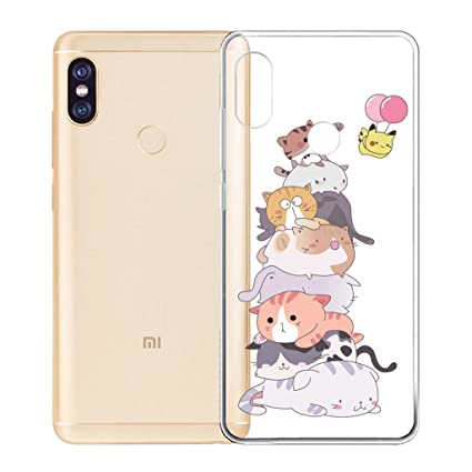 Amazon.com: LJSM Case for Xiaomi Redmi Note 5/5 Pro ...
