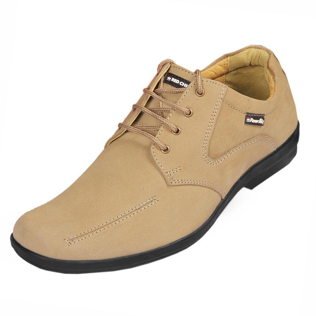 Mashroom Leather Formal Shoes at Amazon