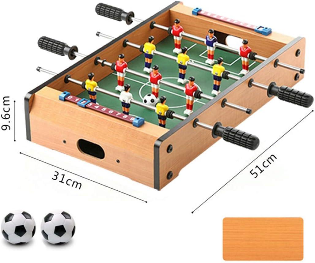 Zgifts Juegos de Mesa de futbolín de Mesa - 51 cm Cuatro Postes ...