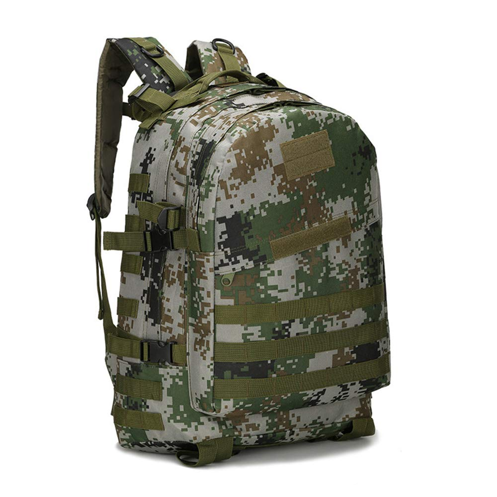 DSM012 onesize JITALFASH 40L Molle Military Waterproof Backpack 3P Attack Army Patrol Backpack Double Shoulder Rucksuck DSM012
