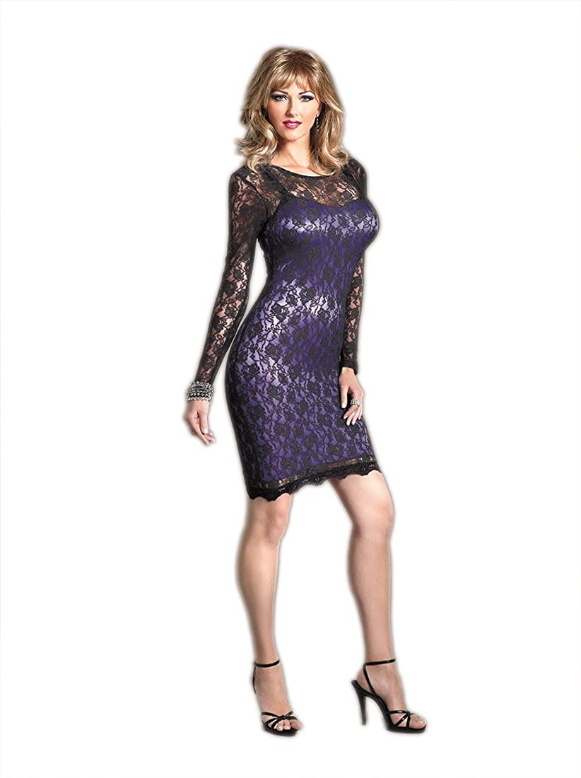 Suddenly Fem Satin And Lace Dress For Crossdressers And Trans Women