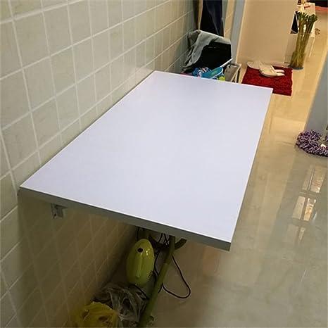 Amazon.com: Blanco SoBuy mesa plegable mesa de comedor ...