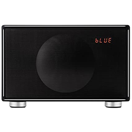 Geneva Classic M FM con Bluetooth y Reloj Digital, Negro