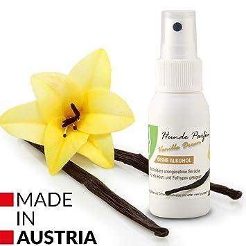 4yourpet Perros Perfume, Spray Vanilla Dream, Vainilla, eliminador de olores de Perfume de Pelo para Perros y Gatos: Amazon.es: Productos para mascotas