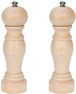 product image for Fletchers' Mill Enchantment Salt & Pepper Mill, Maple - 8 Inch, Adjustable Coarseness Fine to Coarse, MADE IN U.S.A.