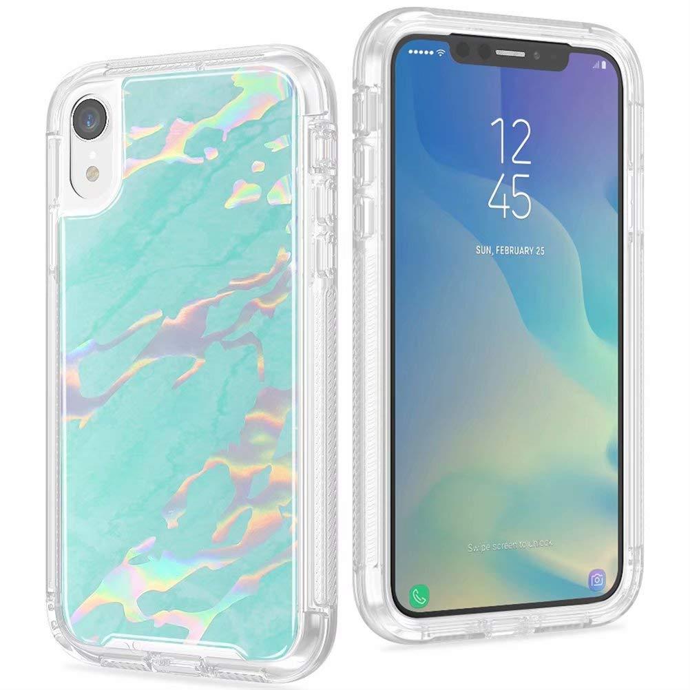 Amazon com: iPhone 6s Plus Case, Maeco Laser Style Marble