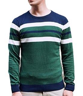 Cromoncent Men Winter Turtleneck Pure Color Knitwear Pullover Sweaters