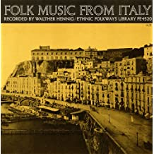 Folk Music from Italy / Various