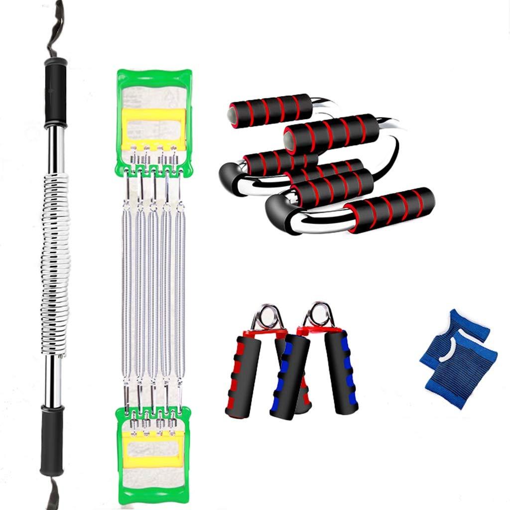 フィットネス機器セット、屋内腕の脚の腹部エクササイズアームロープ、ヨガマットグリップをスキップ腹部筋肉ホイール減量装置 B07HCJC8LX 30KG|D D 30KG