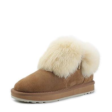 be636c313551e Amazon.com | INOE CREATE GLAMOUR Fashion Real Sheepskin Leather ...