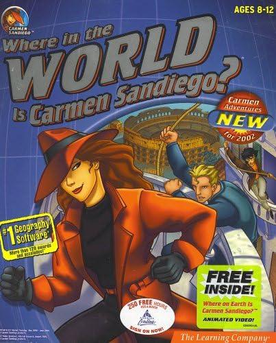 B000P1HCM8 WHERE IN THE WORLD IS CARMEN SANDIEGO 61qzKiTP8VL
