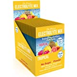 Electrolyte Mix Super Hydration Formula + Trace Minerals | New! Tropical Flavor (30 Powder Packets) Sports Drink Mix…