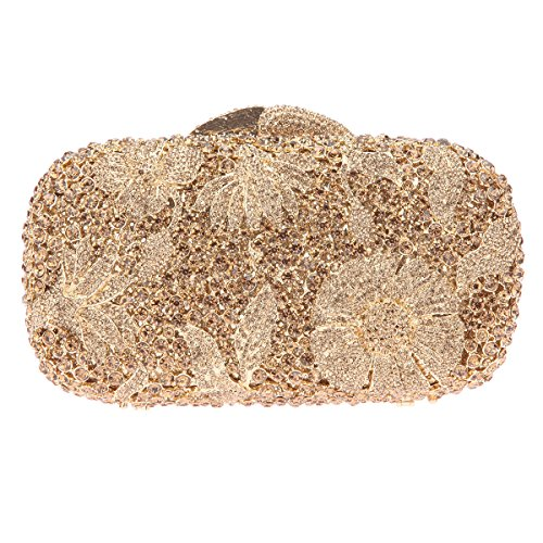 The Silk Flower with Pearl Women's Bridal Evening Bags - 9