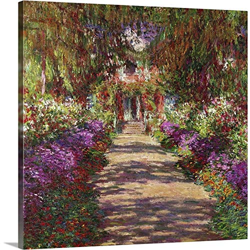 (A Pathway in Monets Garden, Giverny, 1902