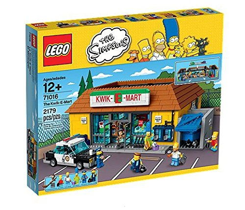 LEGO The Simpsons The Kwik-E-Mart Includes 6 Mini Figures with Assorted Accessory Elements