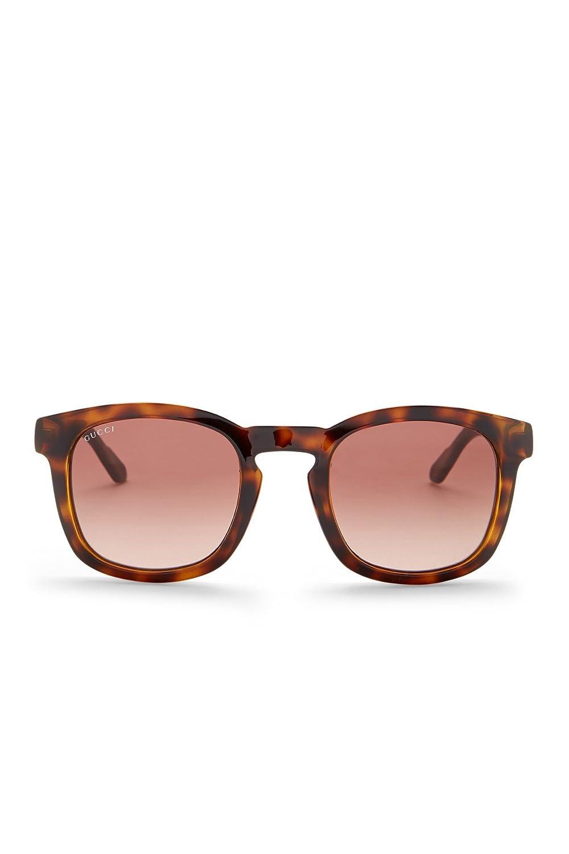 de18c798168 Amazon.com  GUCCI Men s Square Acetate Frame Sunglasses