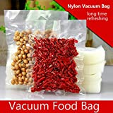 100pcs Clear Nylon Vacuum Food Bag Food Packaging Bag