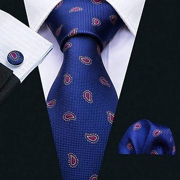 WOXHY Corbata de los Hombres Ls-5043 Corbatas para Hombre Jacquard ...