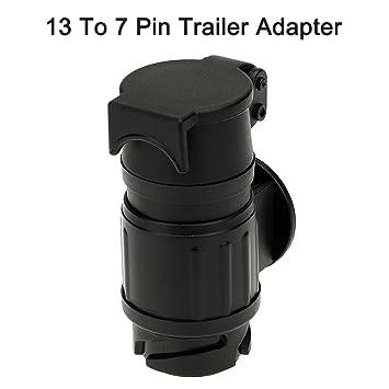 KKmoon Adapterstück 13-polige Steckdose auf 7-poligen DIN-Stecker ...
